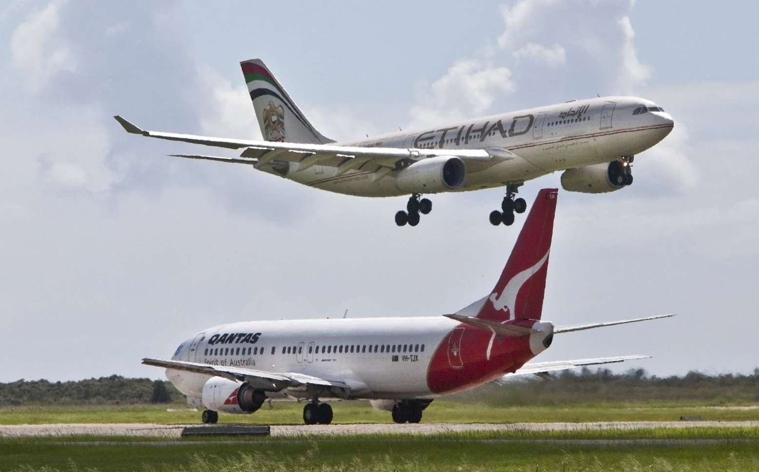 Will Qantas and Emirates partner with Air Pacific or will Etihad and Virgin Australia move in?