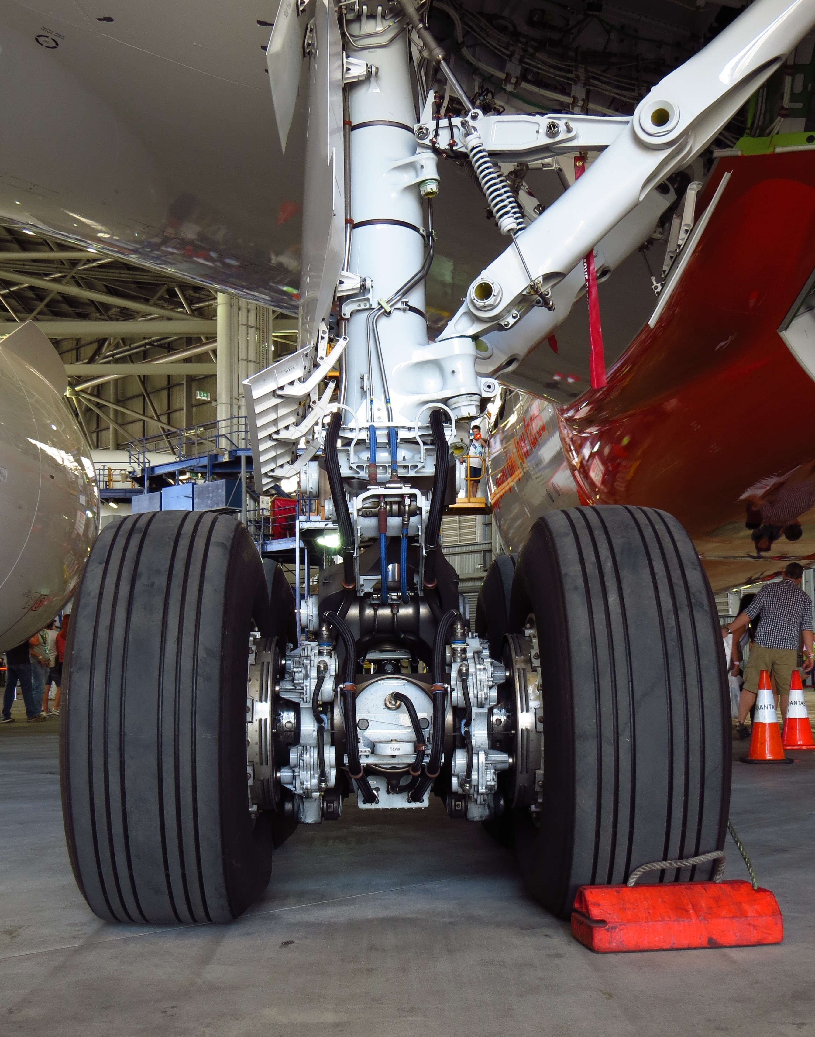 787 Landing Gear Image Carry On