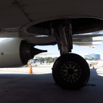 Underneath a 737. Image: Carry-on