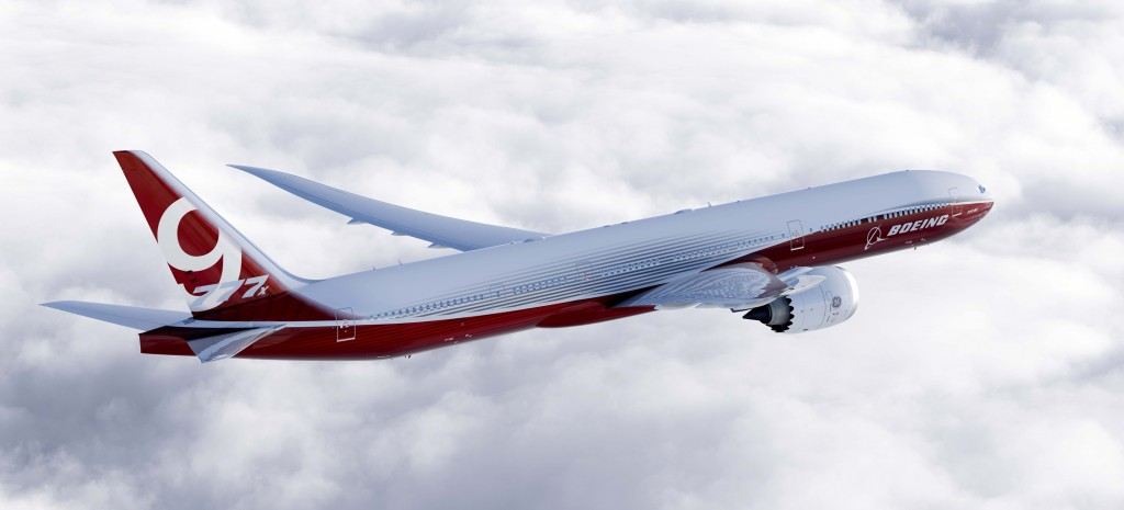 Is there an opportunity for Australia to be a significant component supplier for the 777X programme. Image: Boeing.