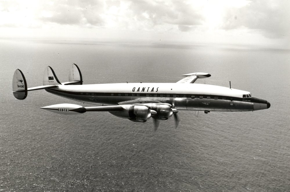 Qantas Lockheed L1049 Super Constellation